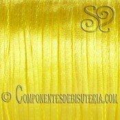Cordon Cola de Raton 1mm Amarillo x 10 metros