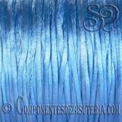 Cordon Cola de Raton 1mm Azul x 10 metros