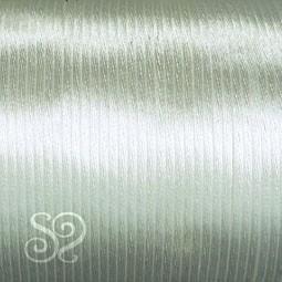 Cordón Cola de Ratón 1mm Blanco x 10 metros