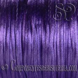 Cordon Cola de Raton 1mm Violeta x 10 metros