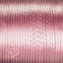 Cordón Cola de Ratón 1mm Rosa x 10 metros