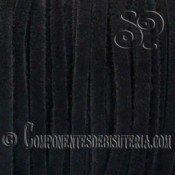 Cinta de Ante Negro 3mm