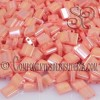 TILA MIYUKI™ SALMON OPACO SEMI-MATE 5X5X1.9MM