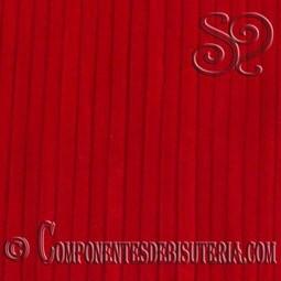 Cordon de Terciopelo Rojo 3mm