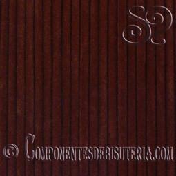 Cordon de Terciopelo Marron 3mm