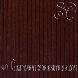 Cordon de Terciopelo Marron 3mm