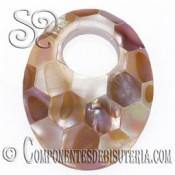 Colgante Mosaico de Nacar Amarillo