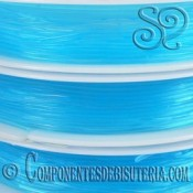Bobina de Hilo Elastico Azul de 0.6mm