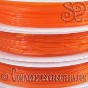 Bobina de Hilo Elastico Naranja de 0.8mm