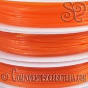 Bobina de Hilo Elastico Naranja de 1mm