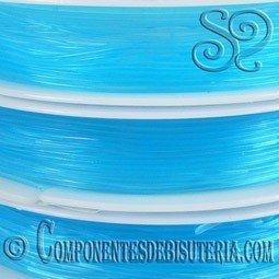 Bobina de Hilo Elastico Azul de 1mm