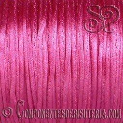 Cordon Cola de Raton 1mm Rosa Fucsia x 10 metros