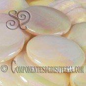 Disco de Nacar Natural Irisado pack de 10uds
