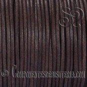 Cuero Natural Marrón Oscuro de 2mm