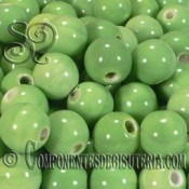 Bola Porcelana Verde