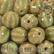 Bolas Porcelana Verde