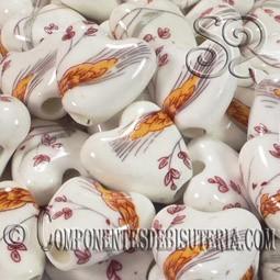 Corazon Porcelana