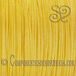 CORDON TRENZADO DE NYLON 1MM AMARILLO