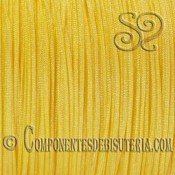 CORDON TRENZADO DE NYLON 1MM AMARILLO x 10M