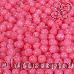 BOLA DE CORAL ROSA 3MM (25Uds)