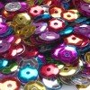 Bolsa de Lentejuelas Multicolor de 6-7mm