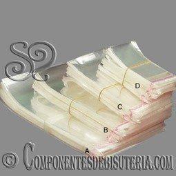 PACK DE 50 BOLSAS DE PLASTICO DE 10x15CM
