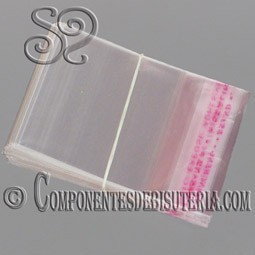 Bolsas de Plastico 4x4cm 100Uds.
