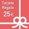 Tarjeta Regalo por valor de 25 euros