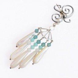Kit de Pendientes con Perlas de Rio