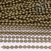 Cadena de Bolas de 2,4mm Bronce