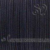 Cordon de Cuero Negro 4mm