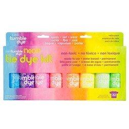 Pack de 8 Pinturas para Textil en Spray colores Neon de 59ml