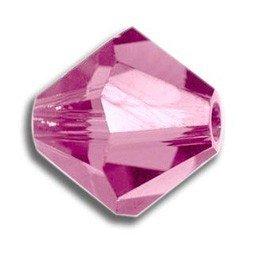 Tupis Cristal Swarovski Rosa 4mm