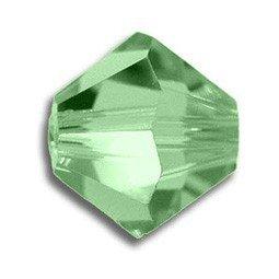 Tupis Cristal Swarovski Verde Peridot 4mm