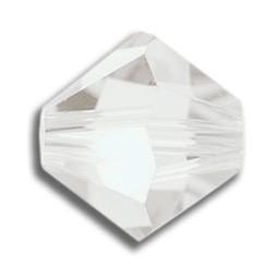 Tupis Cristal Swarovski Blanco Opal 4mm