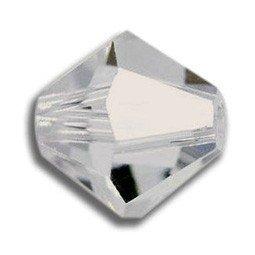 Tupis Cristal Swarovski Cristal Silver Shade 4mm