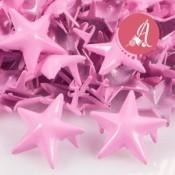 Tachuela de estrella rosa de 15mm