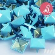 Tachuelas Piramide Azul 9mm