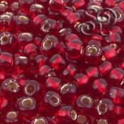 Rocalla Toho 3 Silver Lined Ruby de 5mm x 6gr