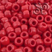 Rocalla Toho 3 Rojo Opaco de 5mm