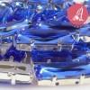 Cabuchon Princess Baguette Azul