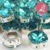 Cabuchon de Cristal Verde
