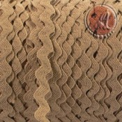 CINTA ZIGZAG ONDULINA CAMEL DE 6MM x 5M