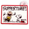 PARCHE TERMOADHESIVO SERIE SNOOPY SUPPERTIME