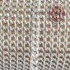 CADENA DE ALUMINIO PLATA DE 8,5x6MM