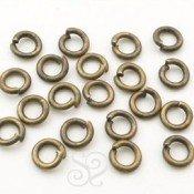 Anilla de Metal Bronce (100 uds)