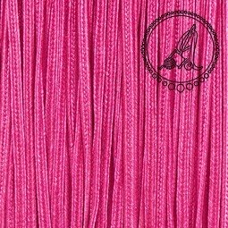 CORDON SOUTACHE ROSA CARMINE 3MM