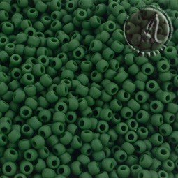ROCALLA TOHO 11/0 VERDE PINO OPAQUE FROSTED