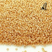 ROCALLA 15/0 TOHO METALLIC ROSE GOLD GALVANIZADO