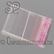 PACK DE 100 BOLSAS DE PLASTICO DE 14X20CM